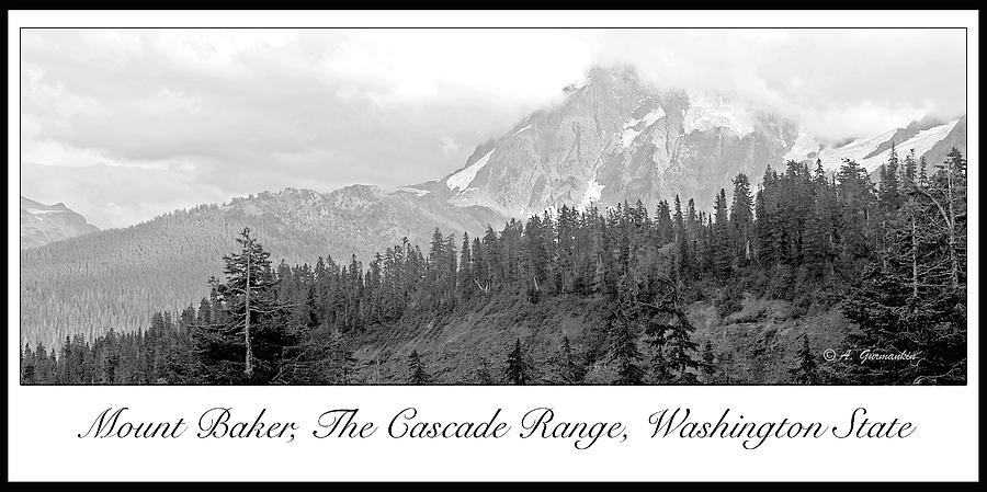 Northwest Photograph - Mt. Baker, Cascade Range, Late Afternoon by A Gurmankin