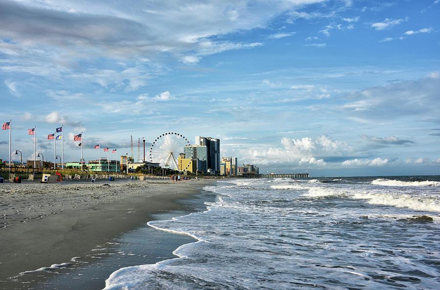 Myrtle Photograph - Myrtle Beach - South Carolina by Brendan Reals