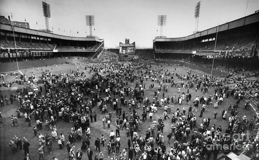 1957 Photograph - New York: Polo Grounds by Granger