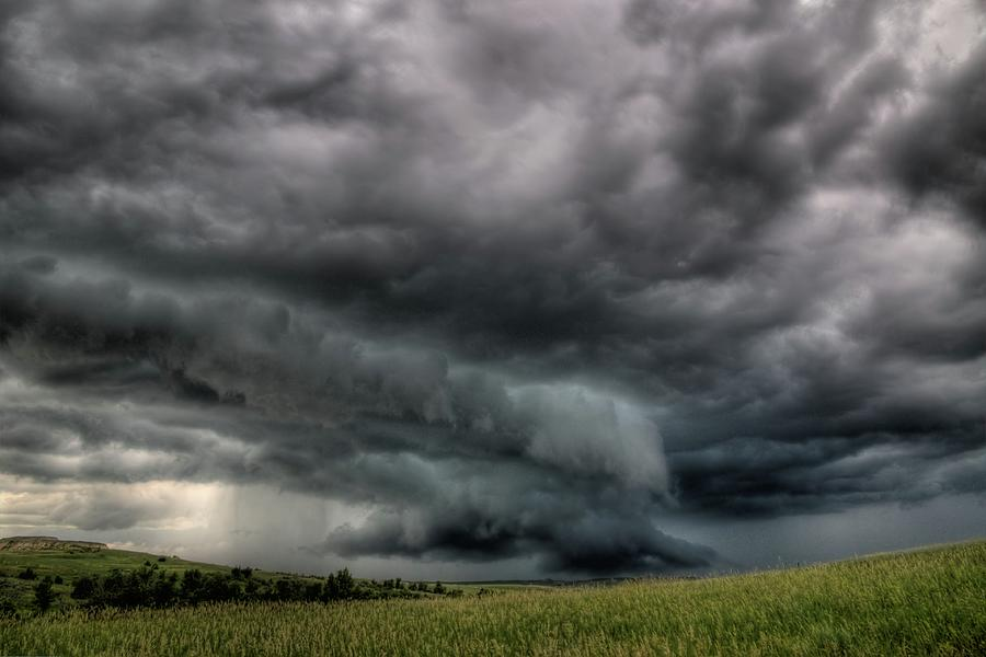 North Dakota Thunderstorm by Dave Rennie