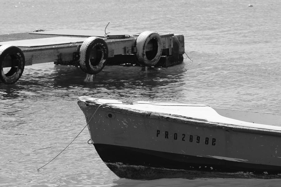 Old San Juan Puerto Rico Local Boats Photograph by Robert Smith