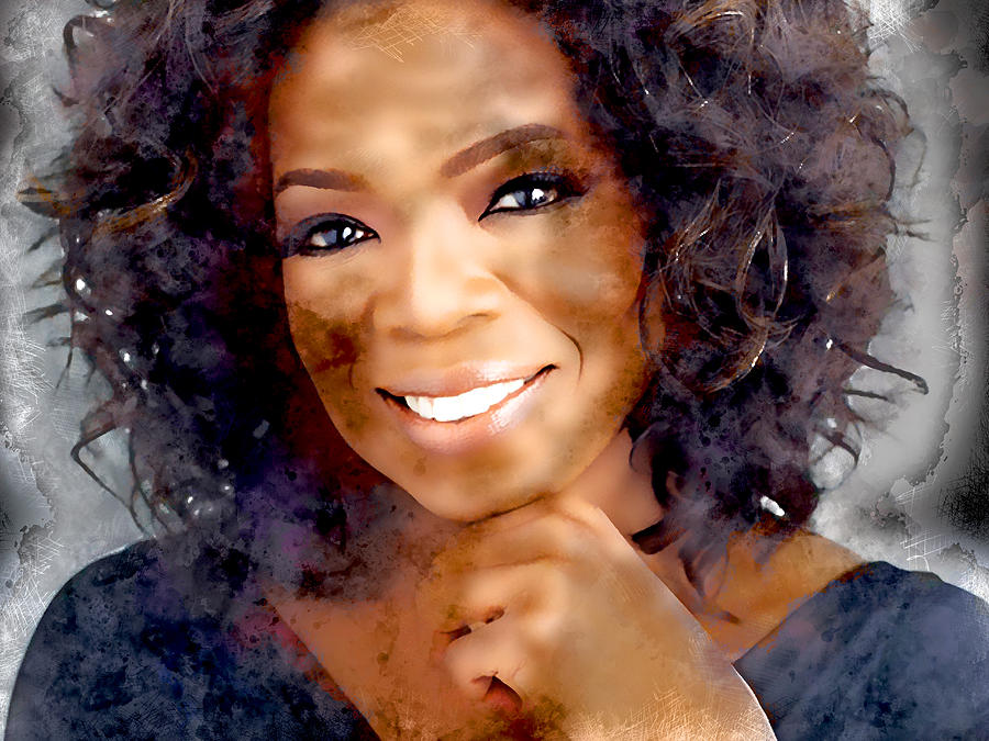 Oprah Mixed Media - Oprah by Marvin Blaine