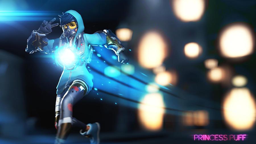 Overwatch Digital Art - Overwatch by Dorothy Binder