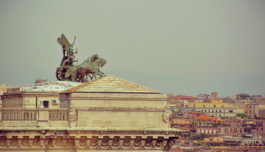 Italy Photograph - Viewing The Palace Of Justice by JAMART Photography