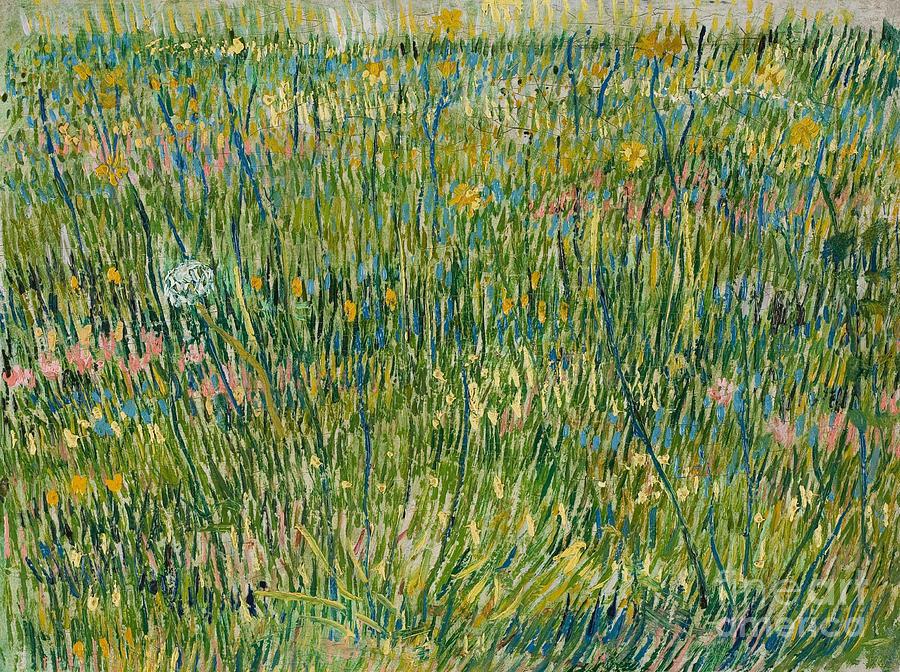 Vincent Van Gogh Painting - Patch Of Grass by Vincent Van Gogh