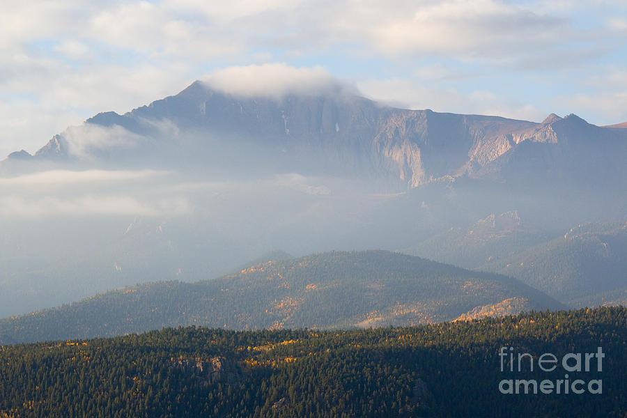 Pikes Peak Autumn On Bald Mountain Colorado Photograph