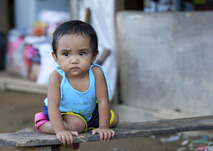 Portrait Photograph - Portrait Philippines by Jamie Cain