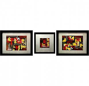 3 Positions Painting by ARTSTRACTO - clauss