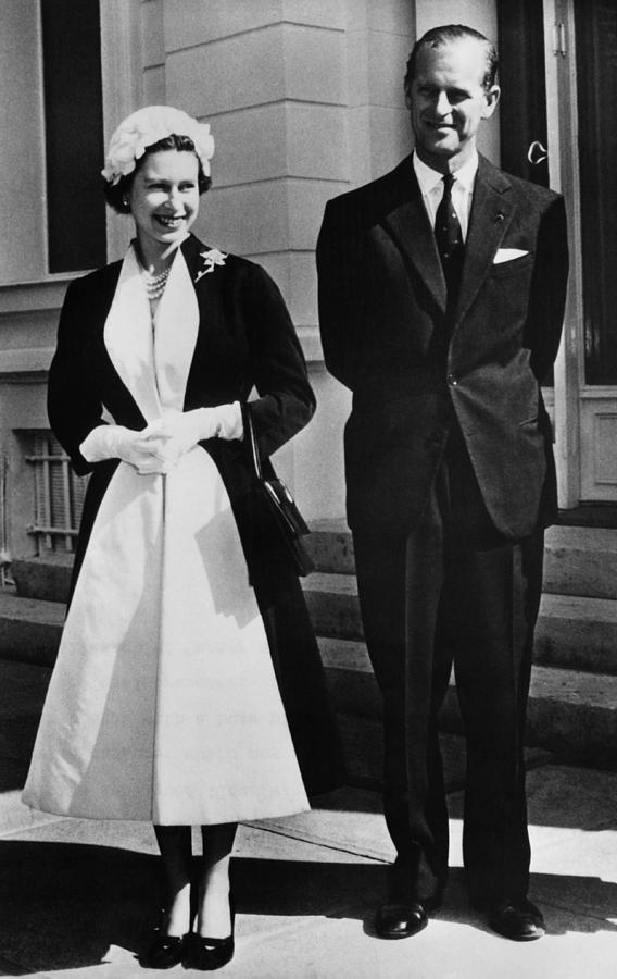 1950s Candids Photograph - Queen Elizabeth II, The Queen by Everett