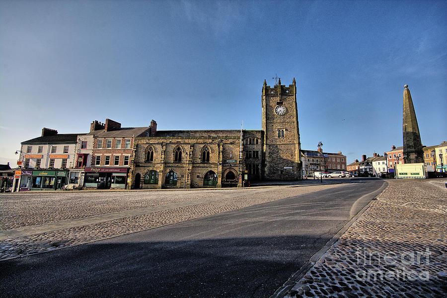 Richmond Photograph - Richmond, North Yorkshire by Smart Aviation