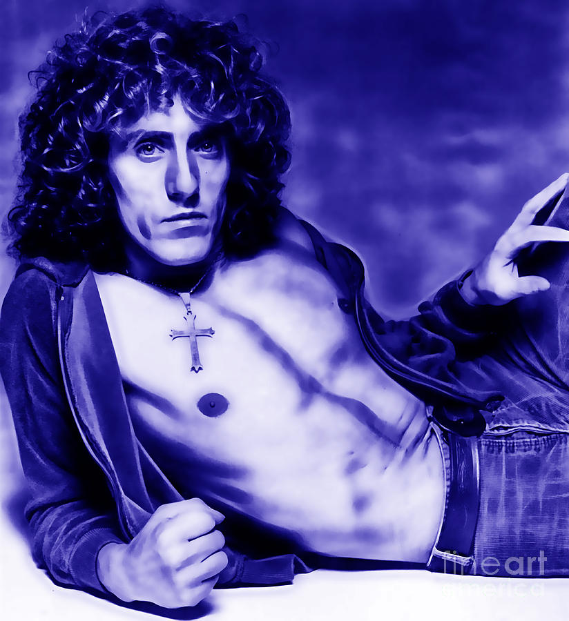 Roger Daltrey Mixed Media - Roger Daltrey Collection by Marvin Blaine