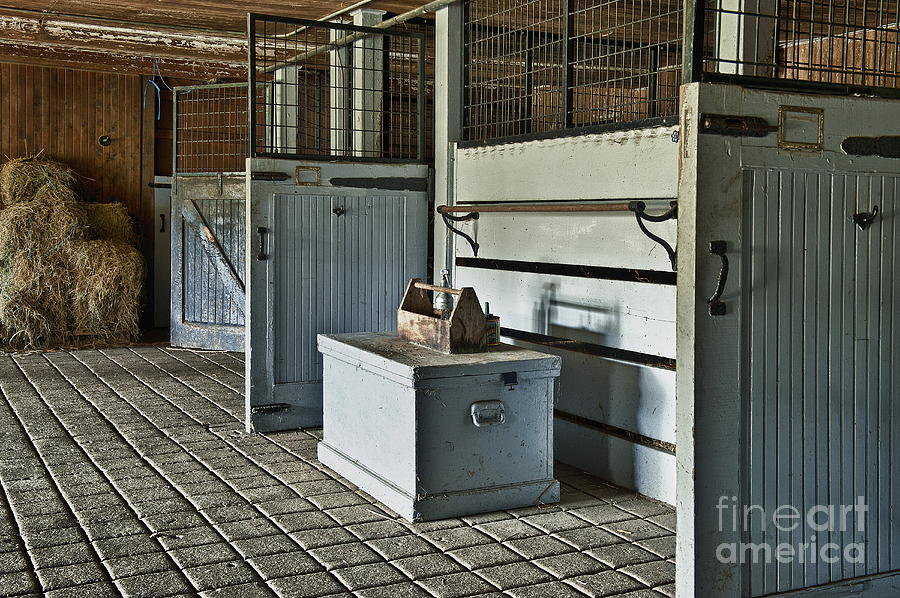 Chester County Photograph - Rustic Stable by John Greim