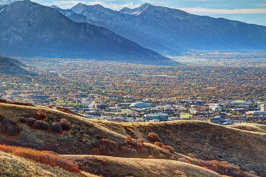 Salt Lake Valley Photograph