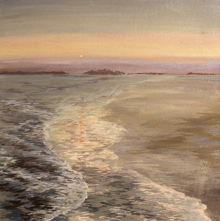 Seascape Painting - Samadhi by Elaine Oehmich