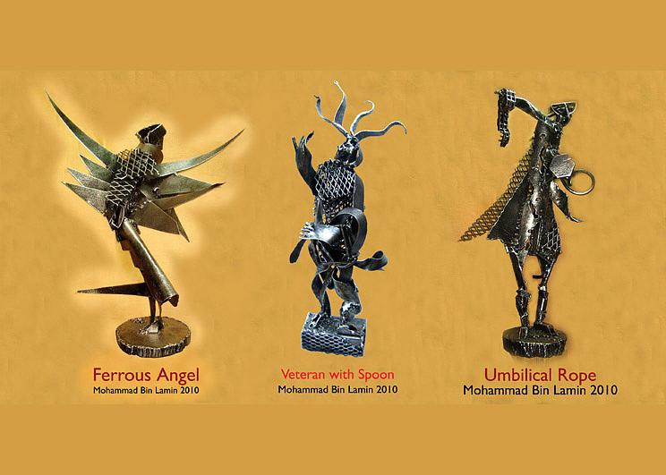 Sculptures Sculpture - 3 Sculptures by MBL Binlamin