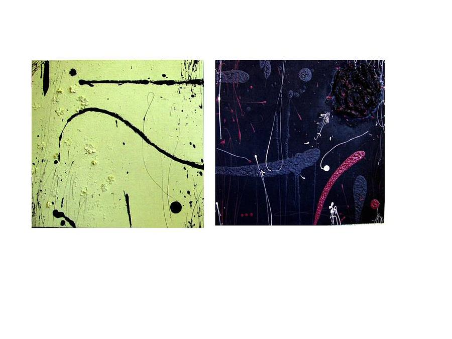 Abstract Painting - Series Changes by Priscila Izoldi