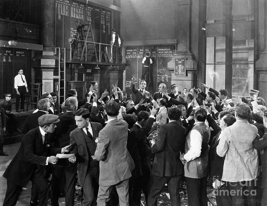 -crowds- Photograph - Silent Film Still: Crowds by Granger