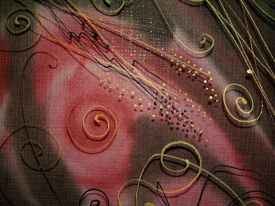 Silk Painting Tapestry - Textile - Silk Painting by Tatyana Shirkova