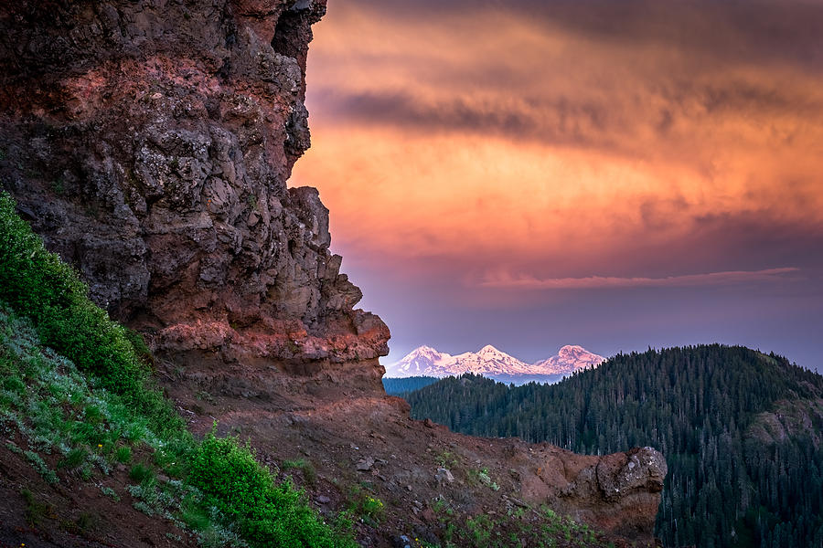 3 Sisters From Iron Mountain Photograph by Jeffrey Green