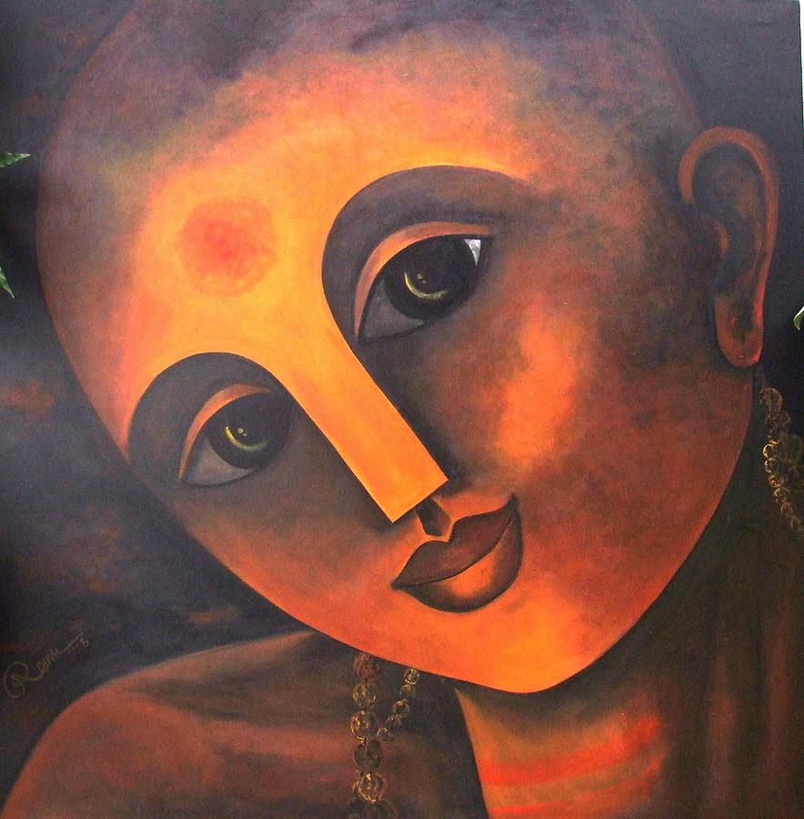Figurative Painting - Spiritual Journey by Rk