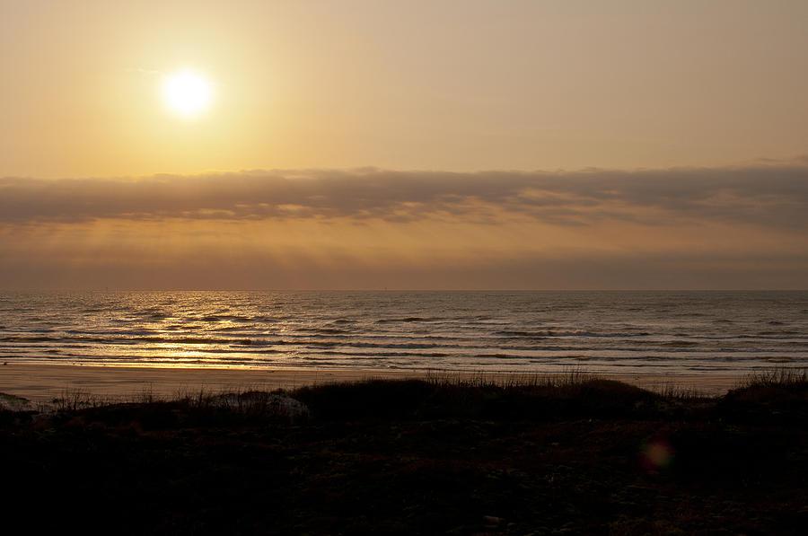 Sunrise Photograph - Sunrise at Beach by Brian Kinney