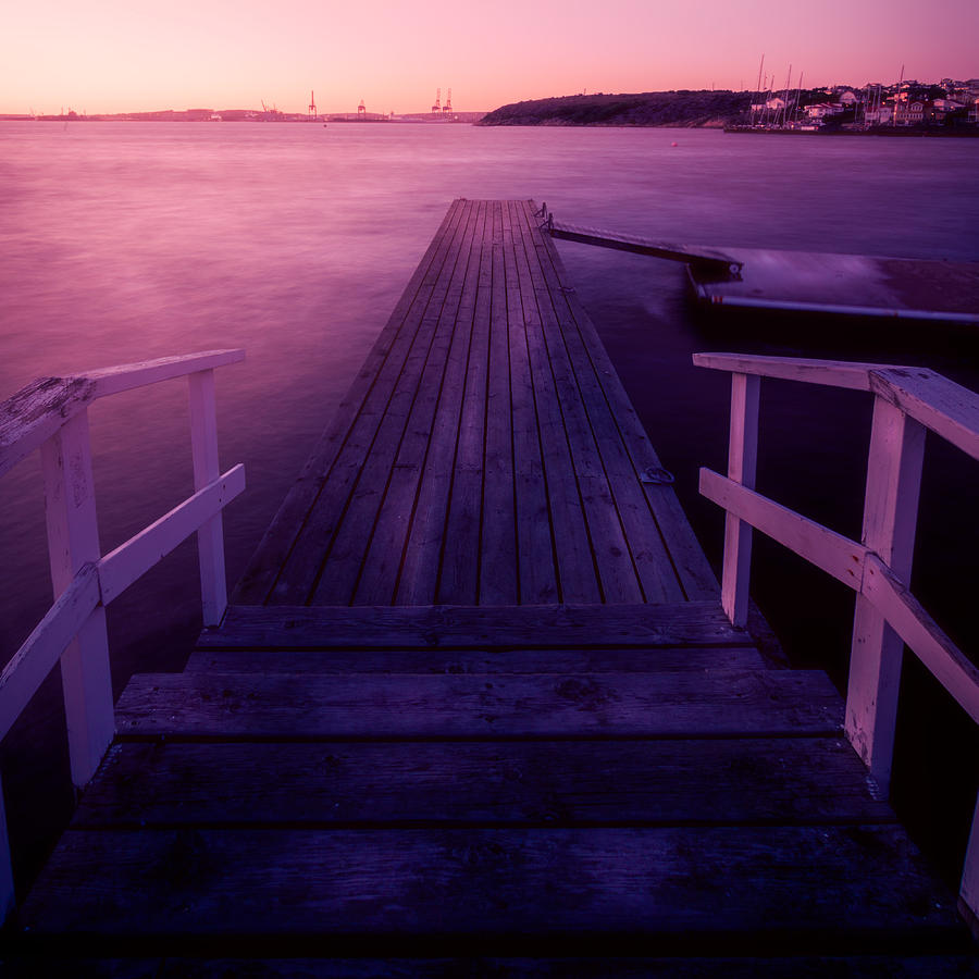 Events Photograph - Sunset At Langedrag, Gothenburg by Vien Hoang