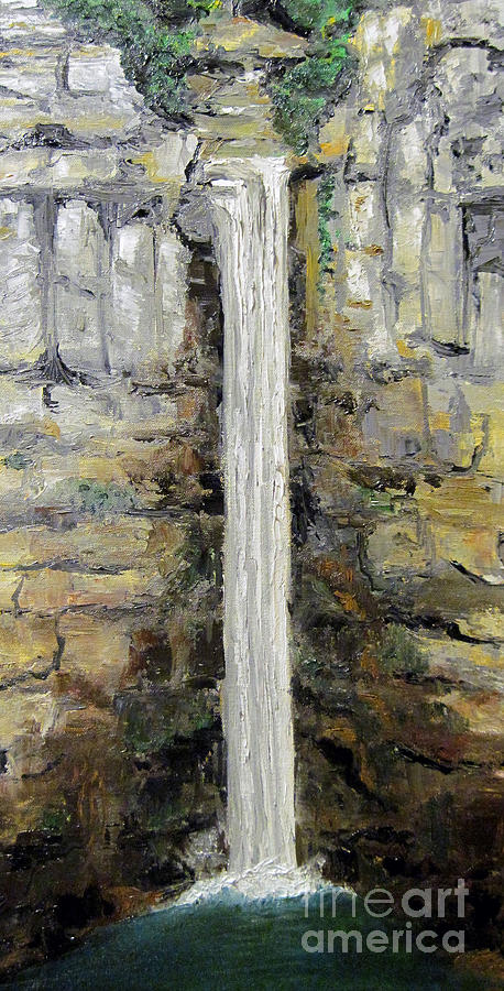 Taughannock Falls Painting - Taughannock Falls by Claudia Croneberger