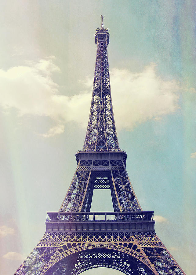 Eiffel Photograph - La Grande Dame by JAMART Photography