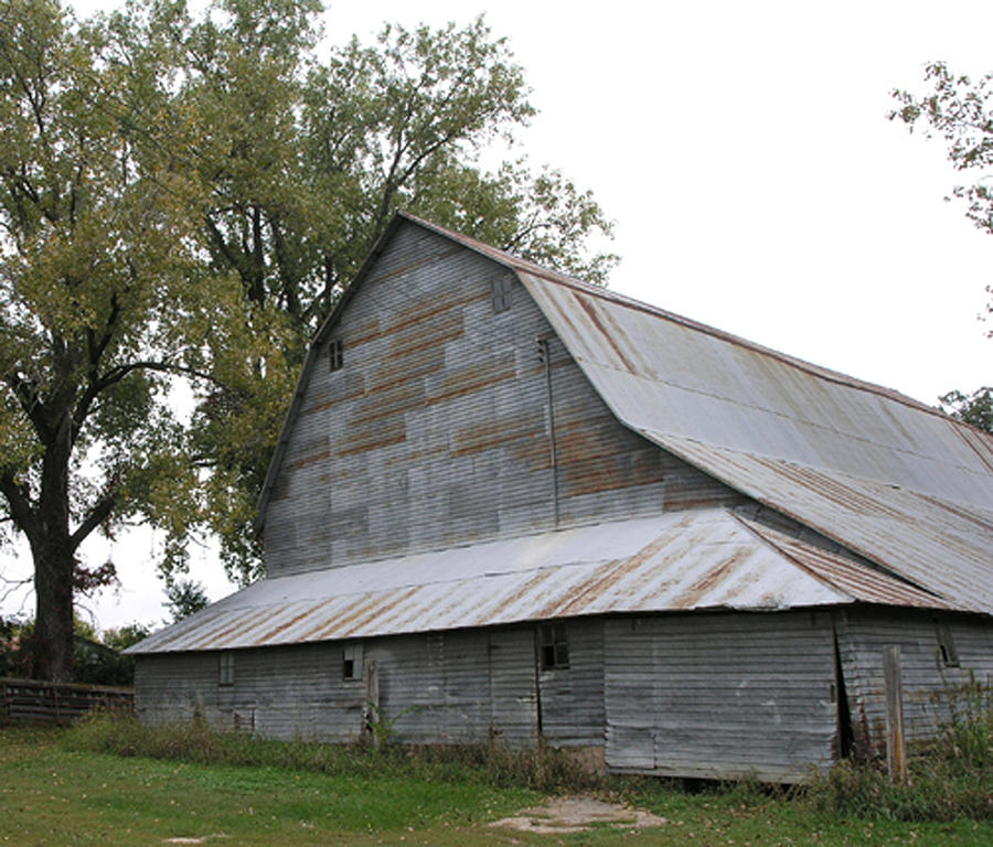 Farm Photograph - The Old Barn by Janis Beauchamp