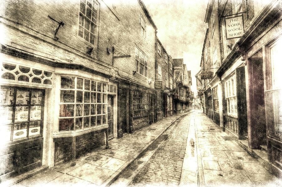 The Shambles York Vintage Photograph