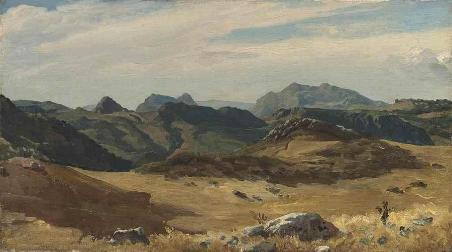 Frederic Leighton Painting - The Sierra Nevada by MotionAge Designs