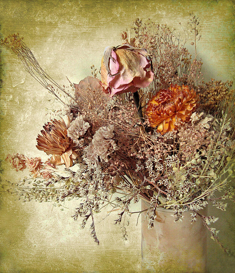 Flowers Photograph - Timeworn by Jessica Jenney