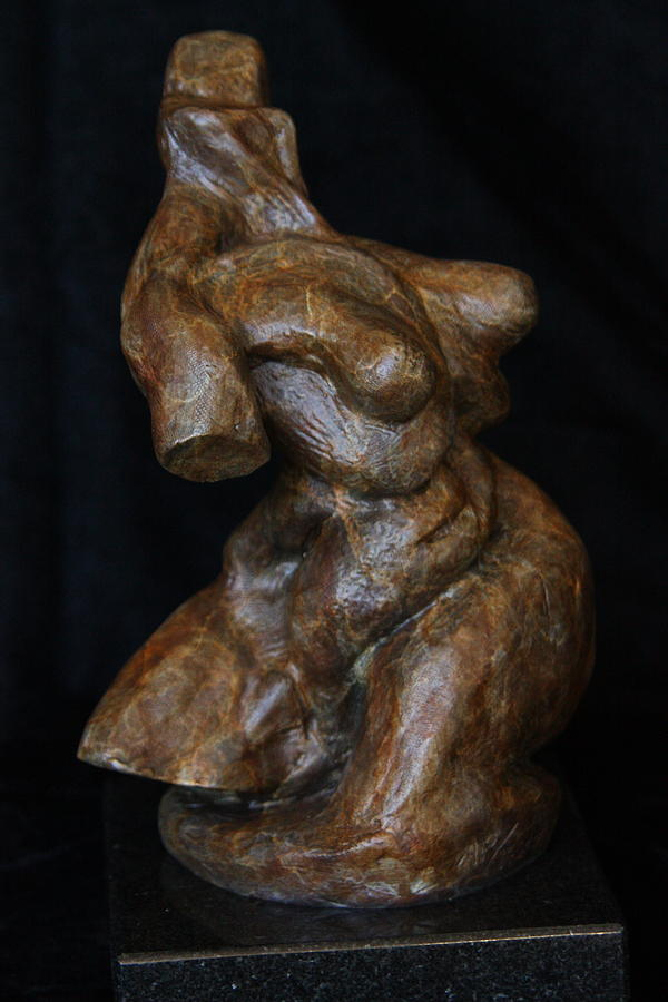 Female Sculpture - Twist Of Fate The Dancer by Dan Earle
