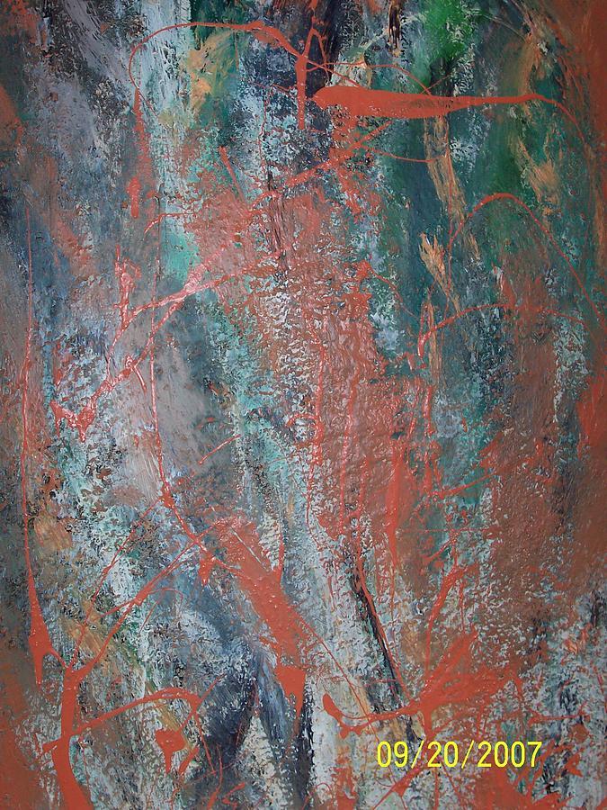 Latex Painting - Untitled by Elizabeth Klecker