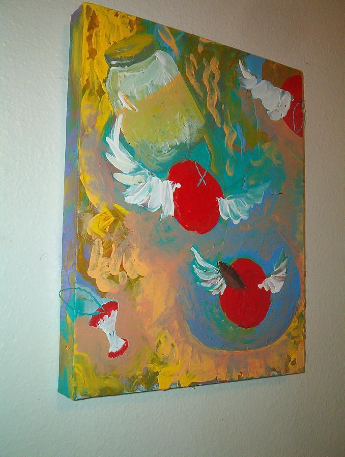 Wings Painting - Untitled by Ingrid Block