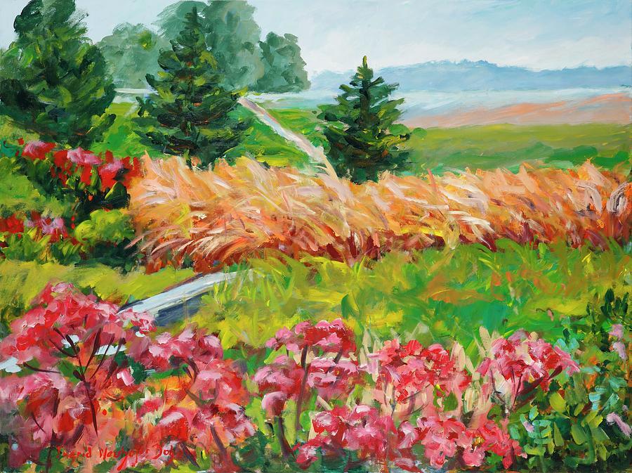 Landscape Painting - Untitled by Ingrid Dohm