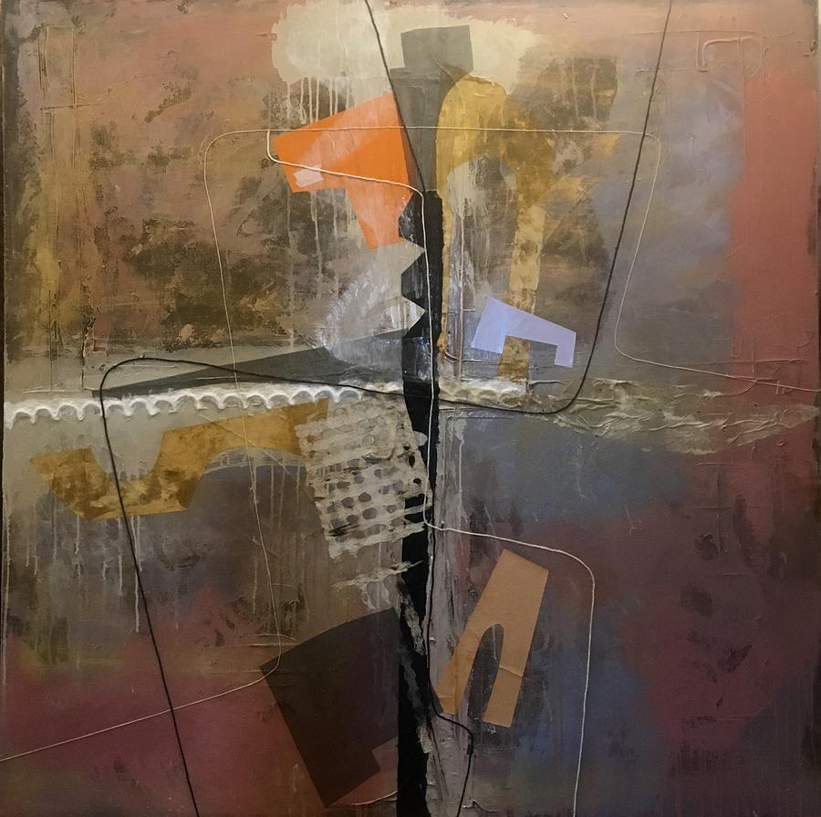 Abstract Mixed Media - Untitled  3 by Jose Johann Bitancor