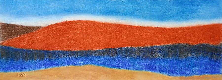 Landscape Painting - Untitled Landscape by Prasad Setty