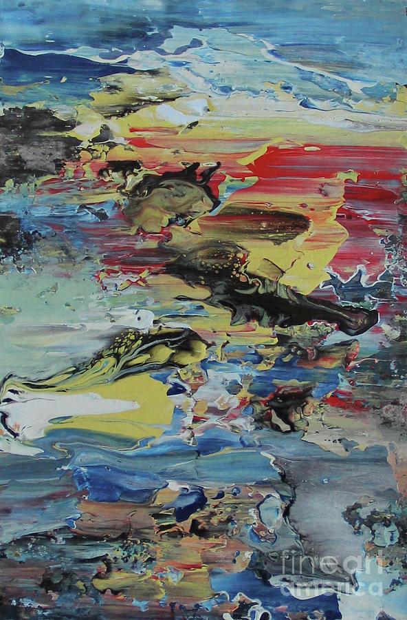 Untitled Painting by Martiros MarHak