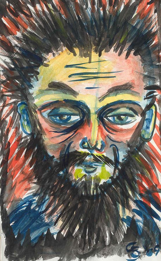 Portrait Painting - Untitled by Stuart Bracewell