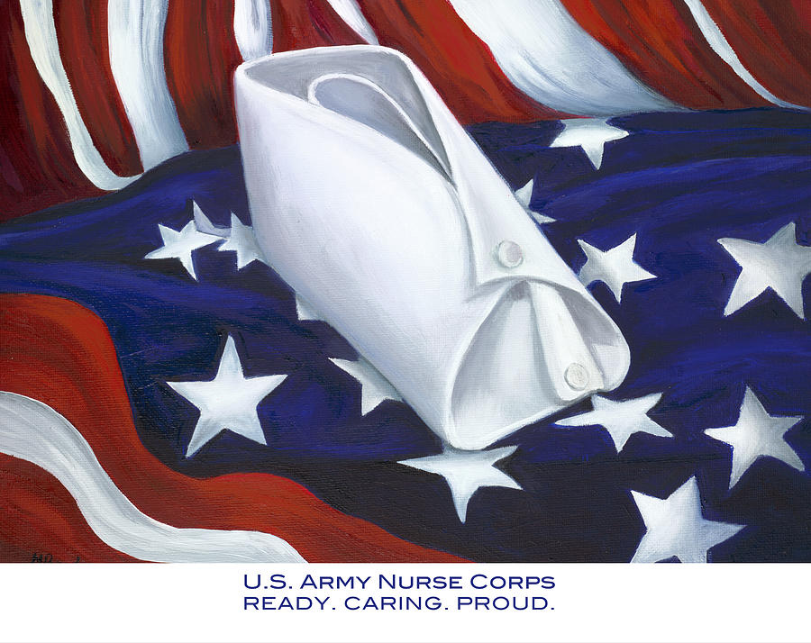 Nurse  - U.s. Army Nurse Corps by Marlyn Boyd
