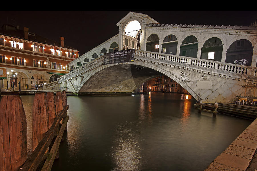 Architecture Photograph - Venice By Night by Joana Kruse