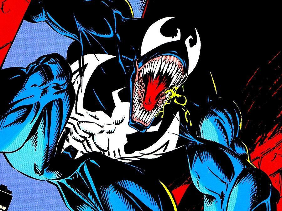 Venom Digital Art - Venom by Mery Moon