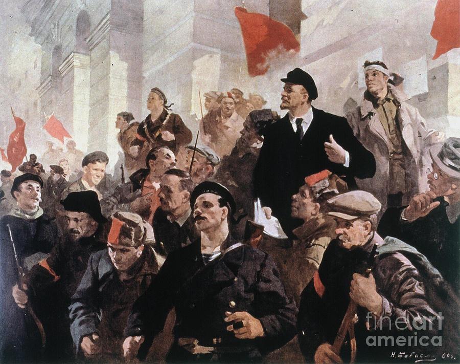 1917 Photograph - Vladimir Lenin (1870-1924) by Granger