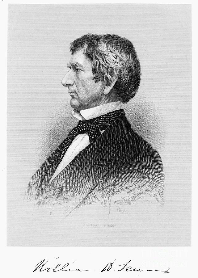 19th Century Photograph - William Seward (1801-1872) by Granger