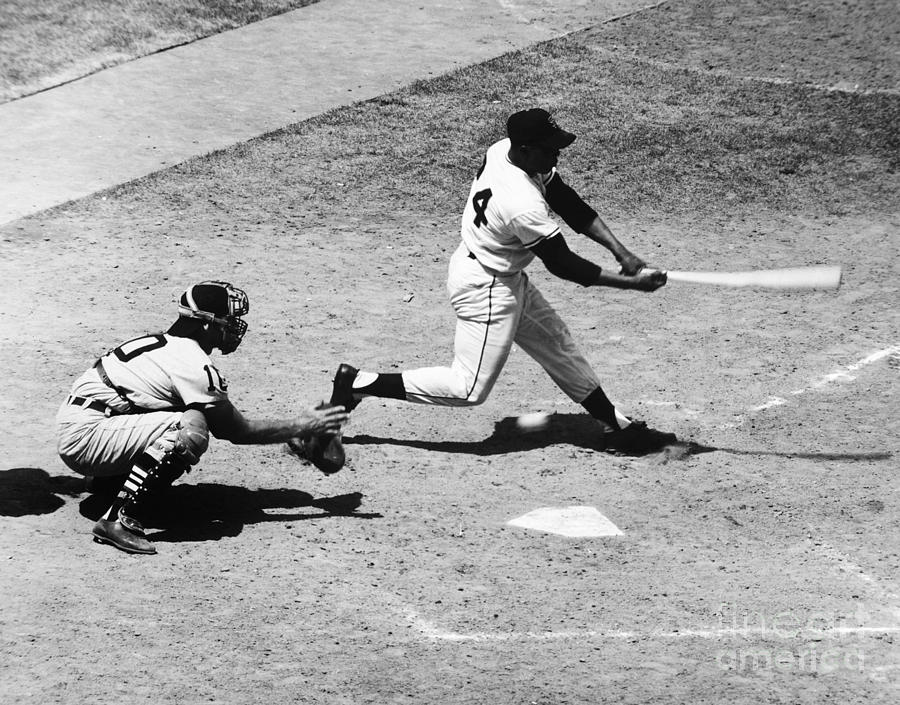 1959 Photograph - Willie Mays (1931- ) by Granger
