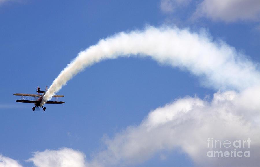 Airshow Photograph - Windwalkers by Angel  Tarantella
