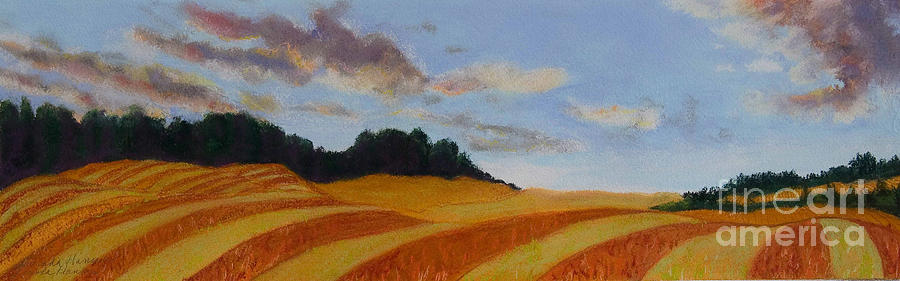 Landscape Painting - Wonderland Farm by Lucinda  Hansen