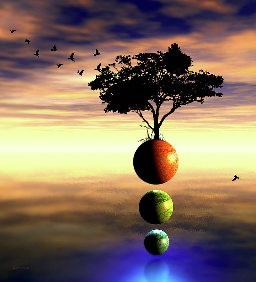 3 Worlds Unite by Gary Greer