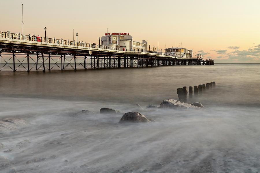 Worthing Pier by Len Brook